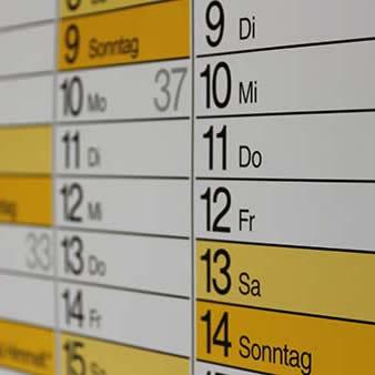 Mein persönlicher Terminkalender